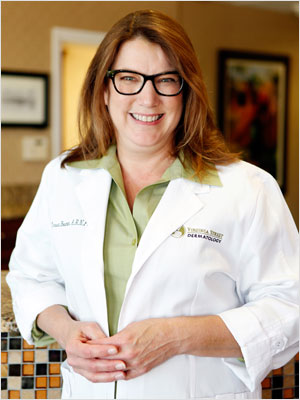 Nurse Bowman at Virginia Street Dermatology